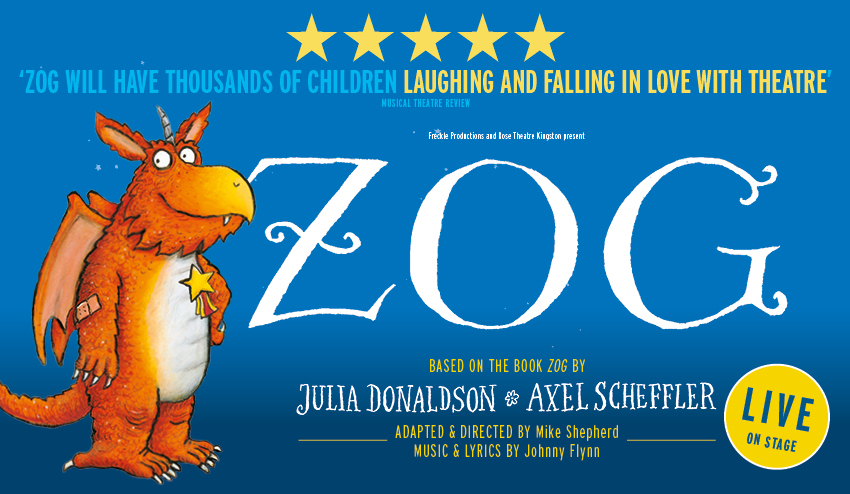 721aa49de Another imaginative and colourful 60-minute stage adaptation for children  of all ages based on a book by Julia Donaldson by Freckle Productions and  Rose ...