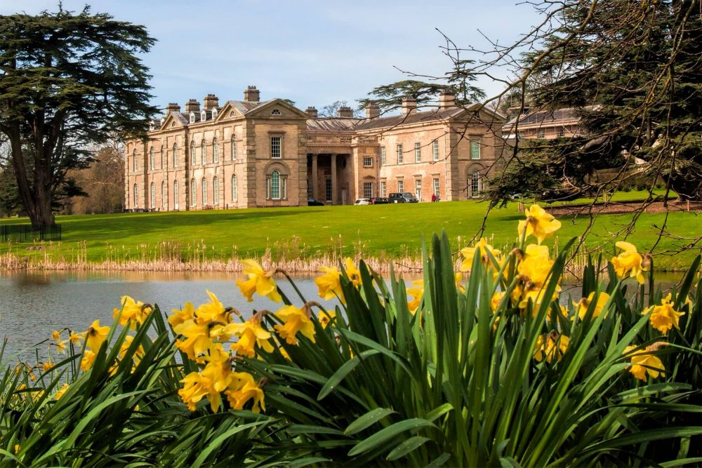 stately home Compton Verney Art Gallery and Park